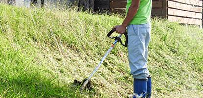草刈り・草むしり、整地・庭掃除